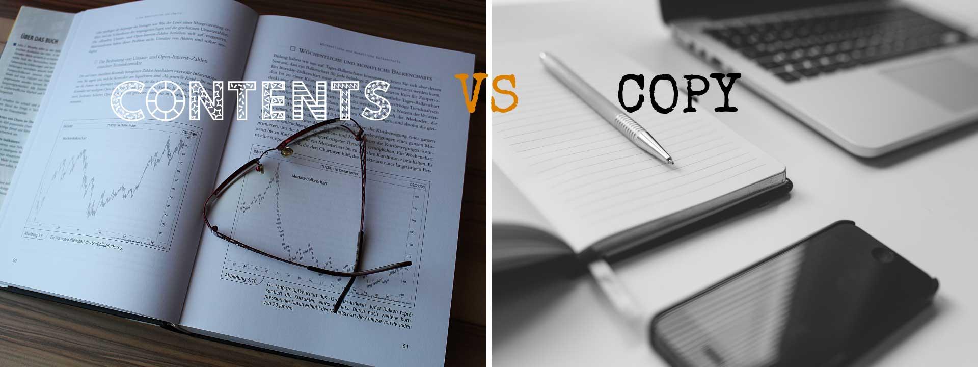 copywriter vs content writer