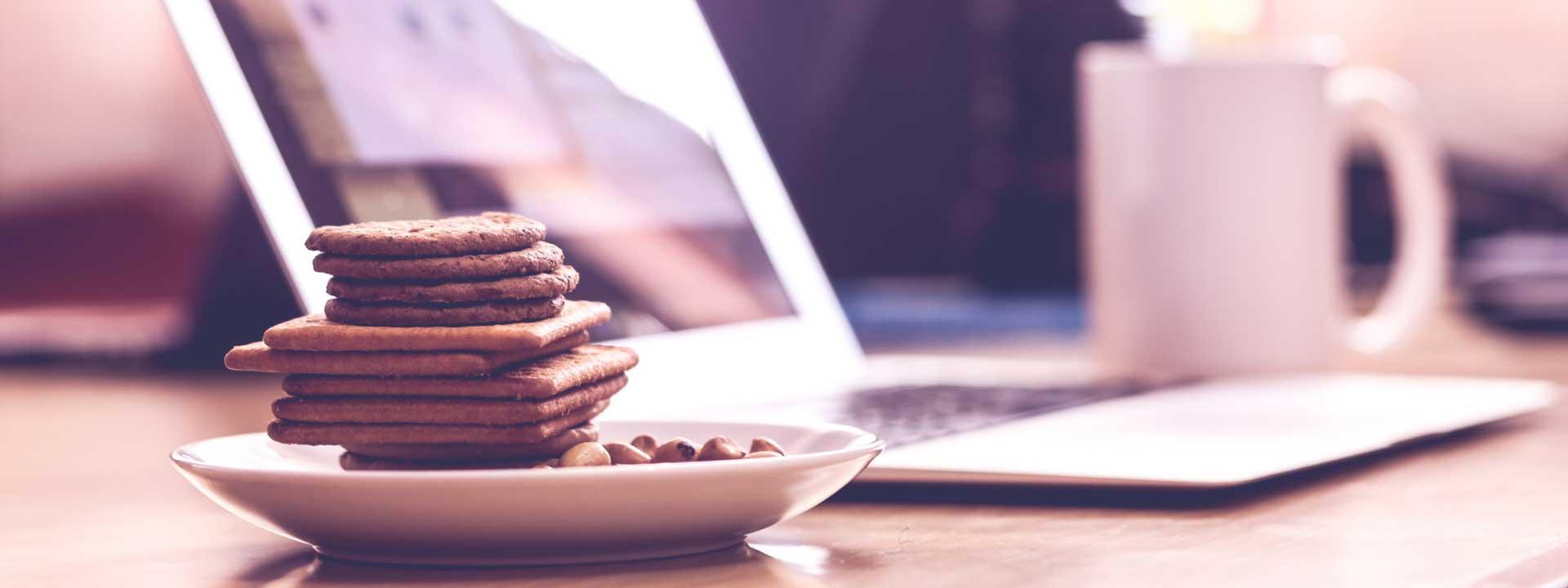 food laptop copywriter